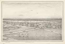 Panorama of Calcutta. Section 3